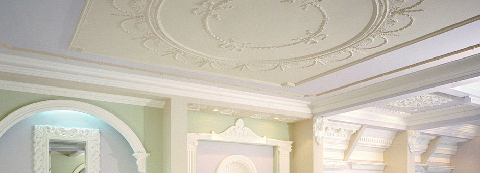 Home Ceiling Panels Ornamental Plaster Plaster