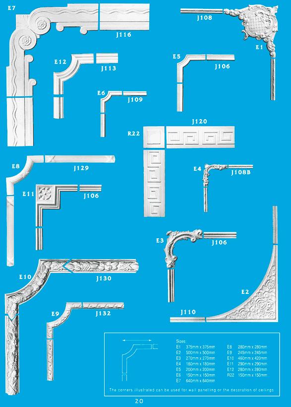 how to cut ceiling cornice corners