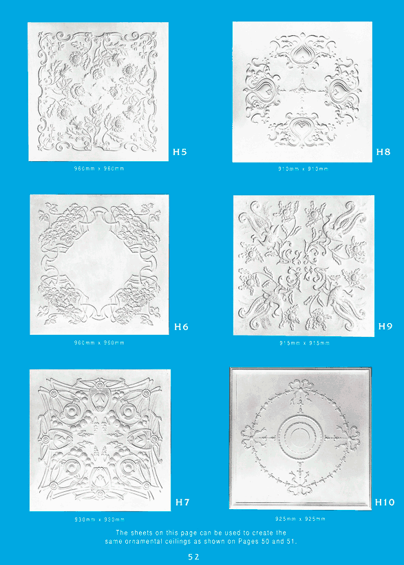 Page 3 - Ornamental Ceilings -