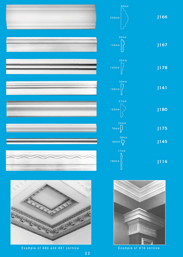 Page 2 - Picture Rails - Ceiling Panels is Brisbane's Decorative Plaster Products Specialist. We specialise in ornamental and decorative plaster picture rails.