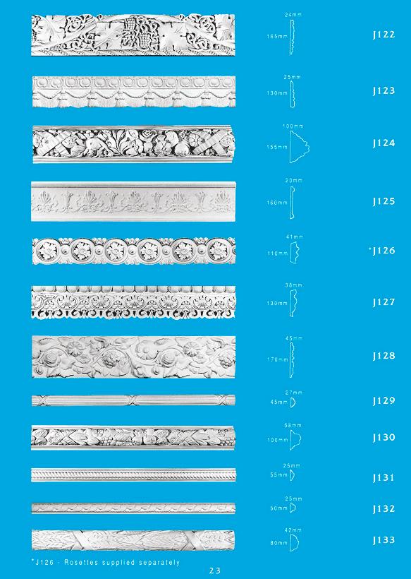 Page 3 - Picture Rails - Ceiling Panels is Brisbane's Decorative Plaster Products Specialist. We specialise in ornamental and decorative plaster picture rails.