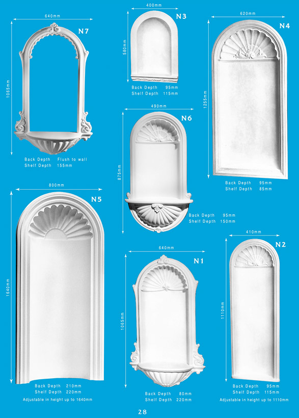 Page 1   Wall Niches   Ornamental Interior Plaster Wall Niches. Ceiling  Panels Is Brisbaneu0027s. «